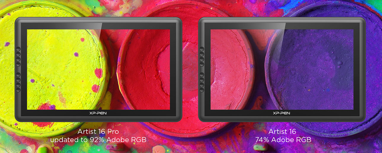 Our 1080p 156 Display Features An Extra Wide 178 Viewing Angle Its Color Gamut Reaches Up To 92 Percent Accuracy